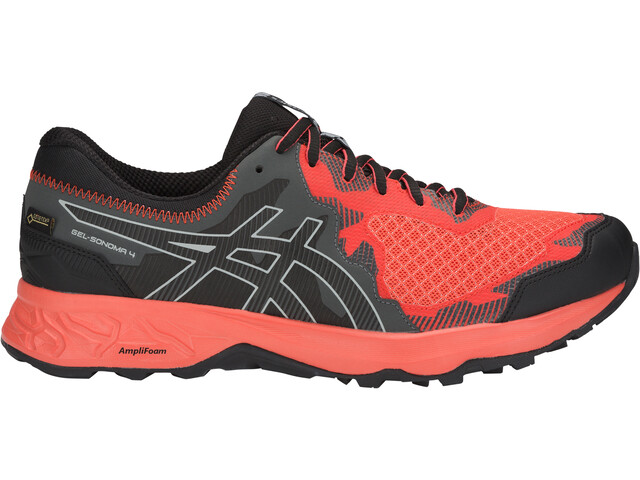 asics M's Gel-Sonoma 4 G-TX Shoes Red Snapper/Black
